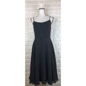 Moda International Polka Dot Dress Sz 8